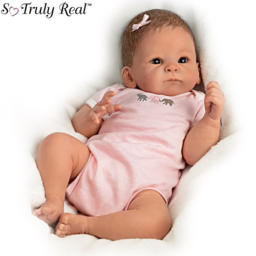 'Little Peanut' Lifelike Poseable So Truly Real® Baby Girl Doll