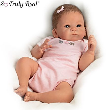 'Little Peanut' Poseable Baby Doll