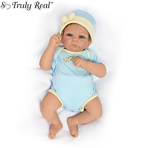 'Cuddle Kitten' Poseable So Truly Real® Baby Girl Doll