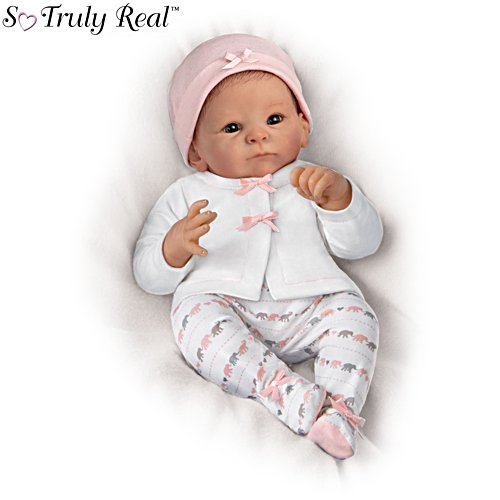 'Little Peanut' Lifelike Poseable So Truly Real® Baby Girl Doll & Outfit
