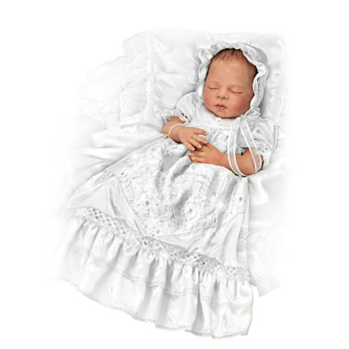 'All God's Grace In One Little Face' Christening Doll