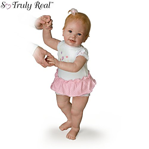 'Isabella's First Steps' So Truly Real® Walking Baby Girl Doll