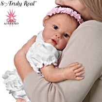 'Hugs From Hailey' Touch-Activated Interactive Baby Girl Doll