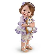 'Welcome Home, Kitty' Poseable Child Doll