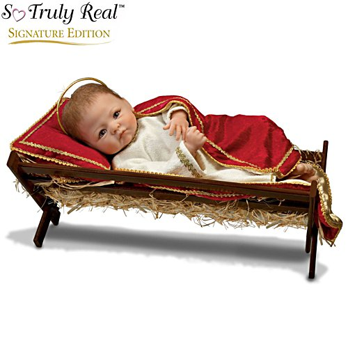 Linda Murray 'Jesus, The Saviour Is Born' Baby Doll