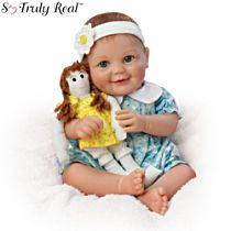 'My Dolly, My Best Friend' Poseable Baby Doll