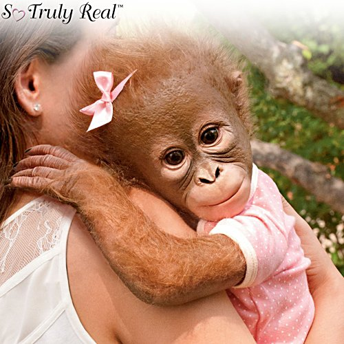 'Annabelle's Hugs' Poseable So Truly Real® Monkey Girl Doll