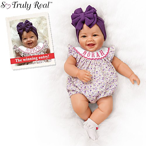 'Norah': 2019 Such A Doll Photo Contest Winner Baby Girl Doll