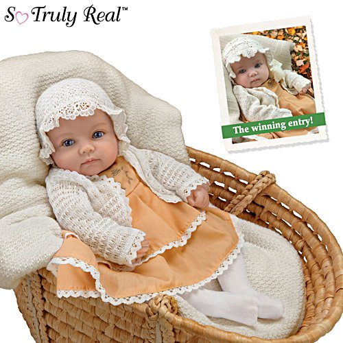 'Rosalie': 2020 Such A Doll Photo Contest Winner Baby Girl Doll