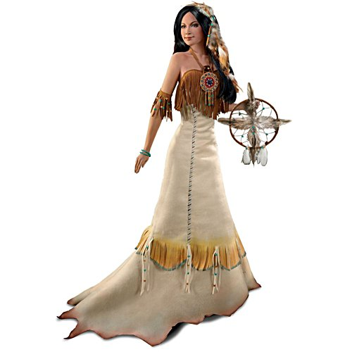 'Sacred Circle Of Love' Native-American Bride Doll