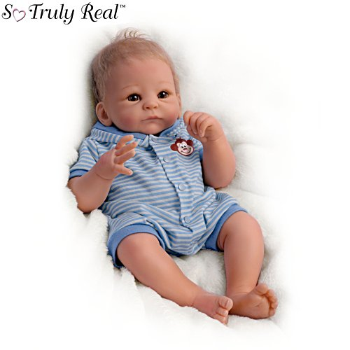 'Benjamin' So Truly Real® Poseable Baby Boy Doll