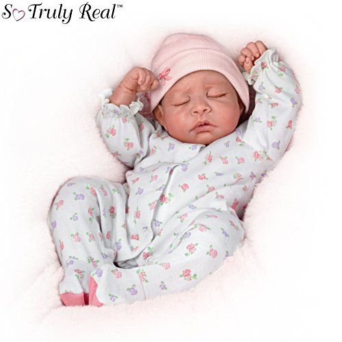 'Sweet Dreams, Maddie' So Truly Real® Breathing Baby Doll
