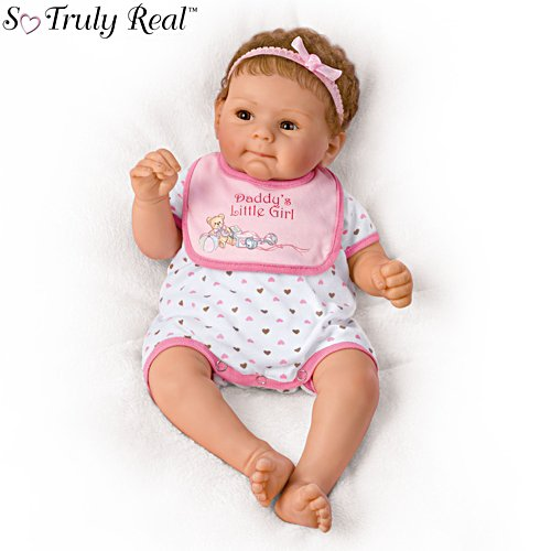 'Daddy's Little Girl' So Truly Real® Baby Girl Doll