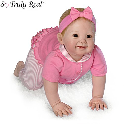 'Aubrey's Crawling!' So Truly Real® Collector's Edition Doll