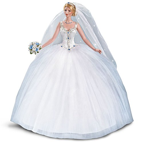'Happily Ever After' Swarovski® Crystal Bride Doll