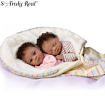 'Jada And Jaden' Twin Baby Doll Set