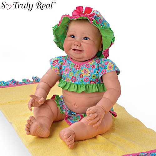 'Beach Baby' So Truly Real® Baby Girl Doll