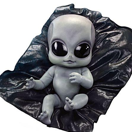 'Greyson' Alien Baby Doll