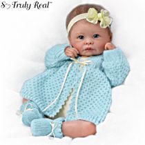 'Sweetly Snuggled' So Truly Real® Baby Girl Doll