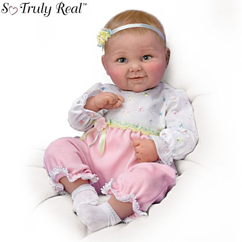 'Sweet Cheeks' Touch-Activated Baby Doll