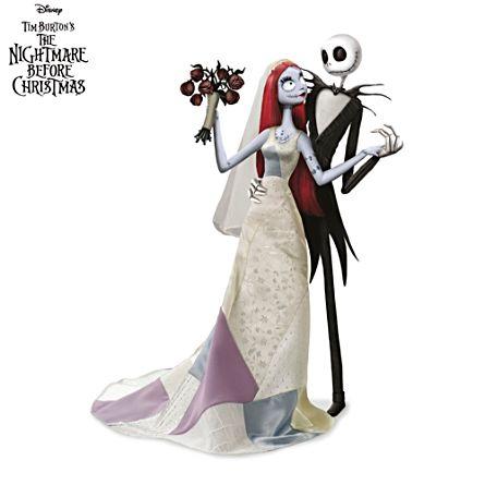 disney jack and sallys nightmare romance doll set - Nightmare Before Christmas Sally Doll