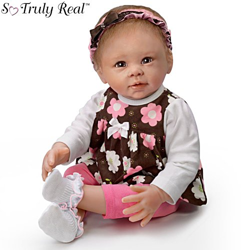 'Sweet Brown-Eyed Girl' Baby Doll