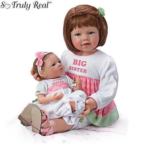 'Hope And Faith' Twin Baby Doll Set