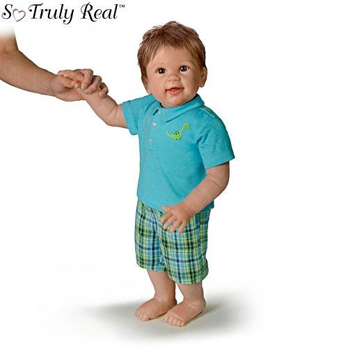 'Mason's First Steps' So Truly Real® Walking Baby Boy Doll