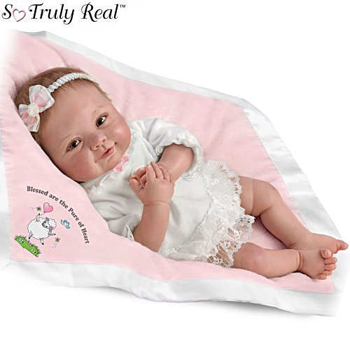 'Blessed Are The Pure Of Heart' So Truly Real® Lifelike Baby Girl Doll