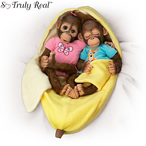 'Frankie And Fiona' Orangutan Doll Set