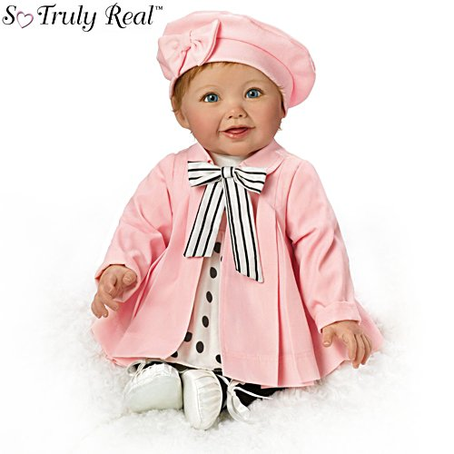 'Madeleine' French And English Talking Baby Doll