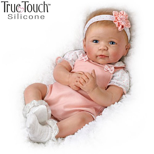 'Ava' TrueTouch™ Silicone Baby Girl Doll