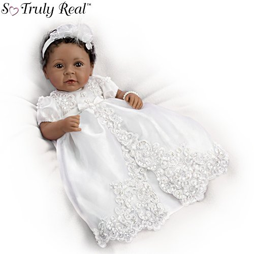 'We Dedicate This Child To The Lord' So Truly Real® Baby Doll