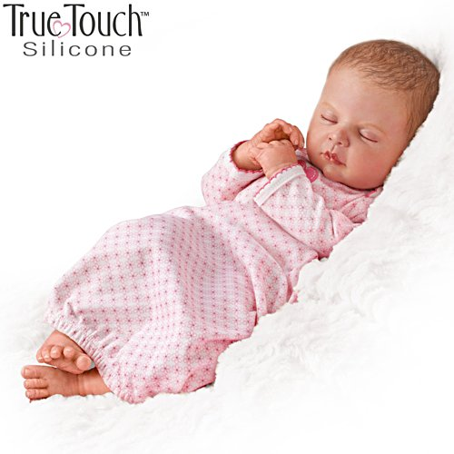 'Sweet Dreams, Serenity' Silicone Baby Girl Doll