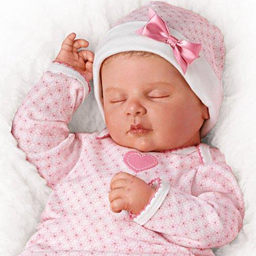 Träume süß, sanfte Sonja – Babypuppe in Reborn-Qualität