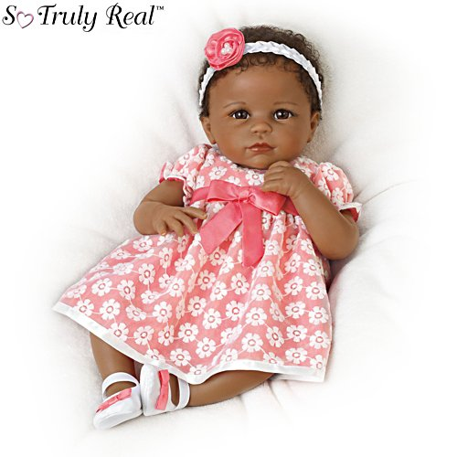 Serena's Sunday Best' African-American So Truly Real® Baby Girl Doll