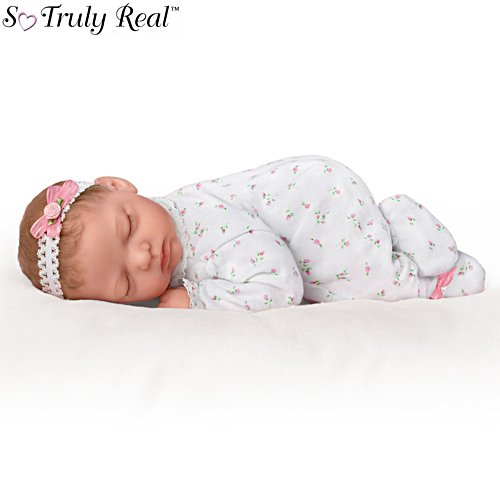 'Snuggle Close Sadie' Poseable So Truly Real® Baby Girl Doll