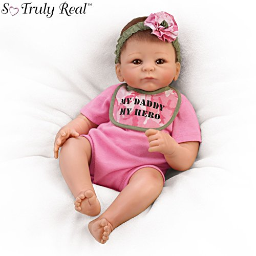 'My Daddy, My Hero' So Truly Real® Baby Doll