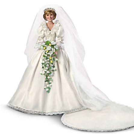 Royal Regal Princess Diana 35th Anniversary Bride Doll: \'Princess ...