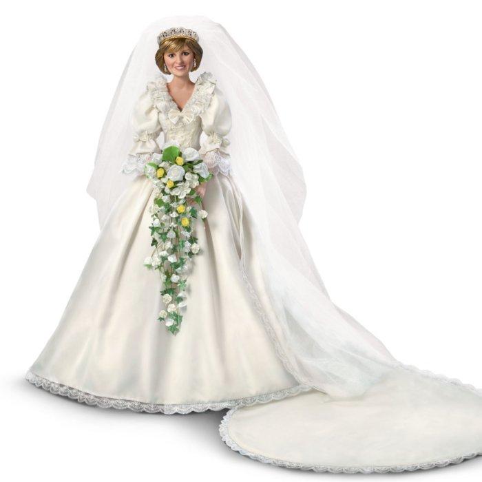 Princess Diana 35th Anniversary Bride Doll