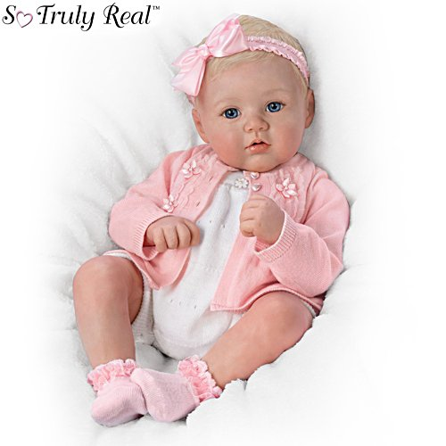 'Perfect In Pink Annika' So Truly Real® Poseable Baby Girl Doll