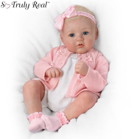 Reborn Lifelike So Truly Real Baby Girl Doll Perfect In