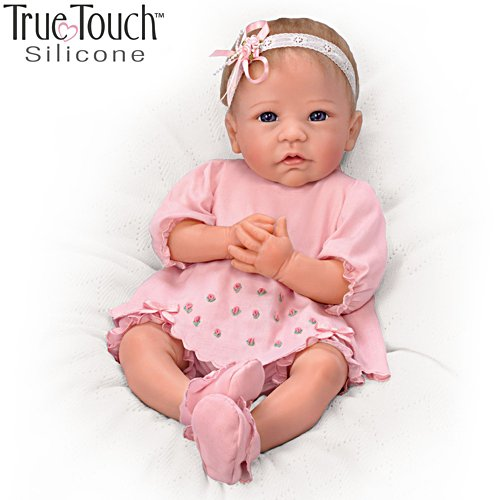 'Claire' TrueTouch™ Silicone Baby Girl Doll