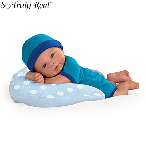 'Cuddle Buddy' So Truly Real® Baby Boy Doll With Pillow