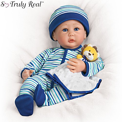 'Naptime For Nathan' So Truly Real® Baby Boy Doll