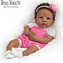 'Tasha' African-American Silicone Baby Doll