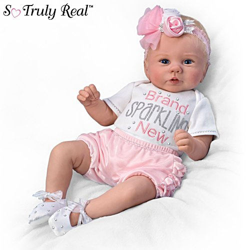 'Kaylie's Brand Sparkling New' So Truly Real® Baby Doll