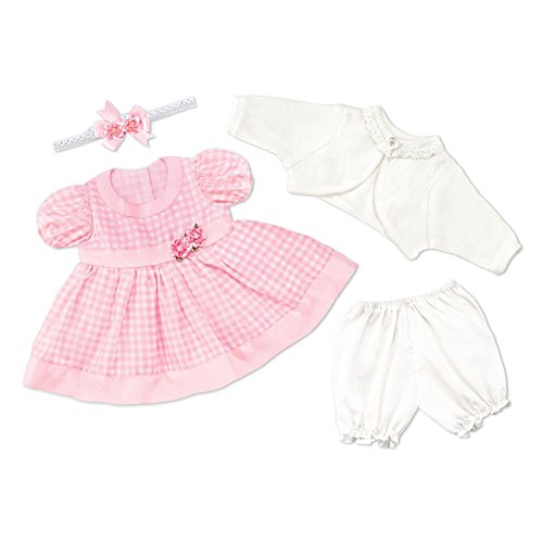 Party Dress Baby Doll Accessory Set – Medium