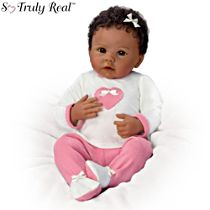 'Jayla' So Truly Real® African-American Breathing Baby Doll