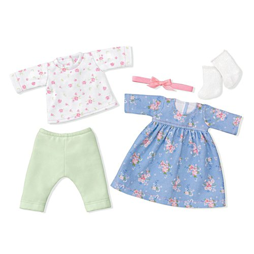 'Fun Floral Fashions' Baby Doll Accessory Set